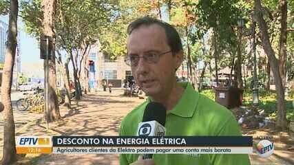 Elektro realiza recadastramento de agricultores para desconto em Rio Claro e região