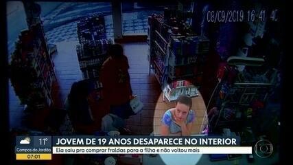 Jovem desaparece em Alumínio, interior de São Paulo