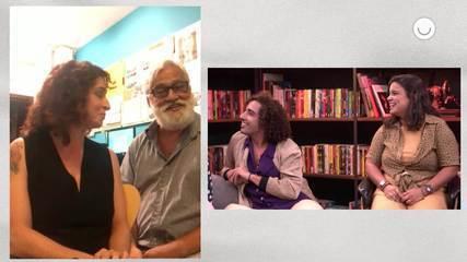 Rosane Svartman e Paulo Halm são sabatinados pelo elenco da Editora