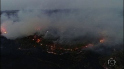 Número de focos de queimadas no Pantanal sobe 300% em 2019