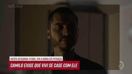 Resumo do dia - 16/09 – Camilo exige que Vivi se case com ele