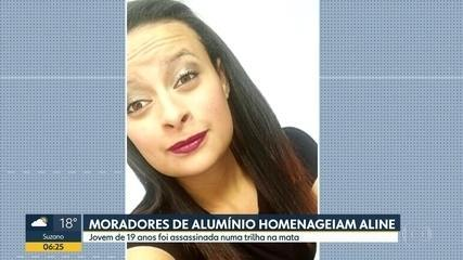 Polícia analisa novas imagens do caso Aline