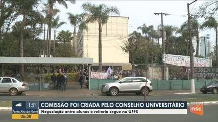Comissão para negociar ocupação da UFFS é criada em reunião do Conselho Universitário