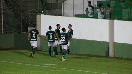 Assista ao gol da vitória do Goiás sobre o Cuiabá pela Copa Verde