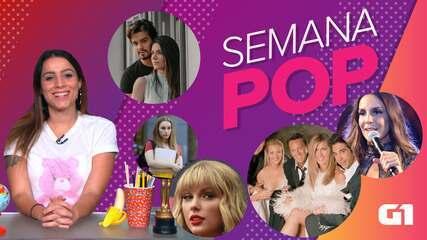 Semana Pop tem 'Friends' aniversariante, Ivete barrada e pedido de casamento; ASSISTA