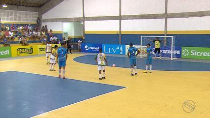 Indiaroba e Santa Luzia ficam no empate na Copa TVSE de Futsal