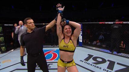 Melhores momentos de Sijara Eubanks x Bethe Correia no UFC Cidade do México