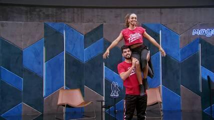 Veja o ensaio de Dandara Mariana com Daniel Norton no 'Dança dos Famosos' no funk
