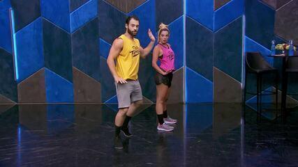Veja o ensaio de Giovanna Lancellotti com Danniel Navarro no 'Dança dos Famosos' no funk