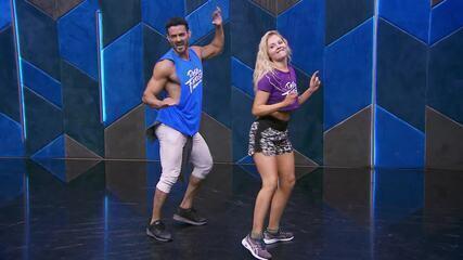 Veja o ensaio de Luisa Sonza com Léo Santos no 'Dança dos Famosos' com funk