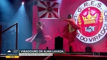 A Viradouro escolheu o samba enredo para o Carnaval 2020, nesse fim de semana