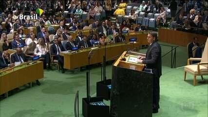 Bolsonaro frustra expectativa de discurso conciliador na ONU
