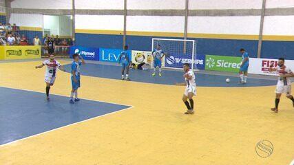 Socorro e Indiaroba ficam no empate na Copa TVSE de Futsal