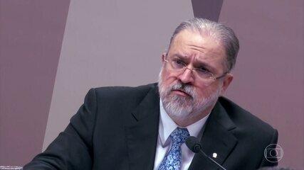 Augusto Aras é sabatinado na Comissão de Constituição e Justiça do Senado