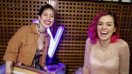 Tatila Krau enfrenta Mobi Colombo no quiz sobre o The Voice Brasil