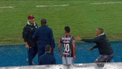 Empate entre Flu e Santos é marcado por xingamentos entre PH Ganso e Oswaldo de Oliveira