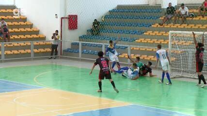 Os gols de Belos 2 x 1 Forglass pela semifinal do primeiro turno do Piauiense de futsal