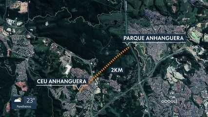 Menina de nove anos é encontrada morta no Parque Anhanguera