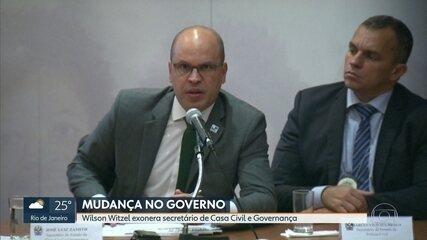 Wilson Witzel exonera o secretário de Casa Civil e Governança