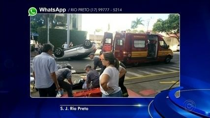 Trânsito de Rio Preto registra acidentes neste fim de semana