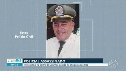 Policial reformado é morto a tiros em Casinhas