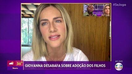 Giovanna Ewbank comenta repercussão de palestra sobre adoção