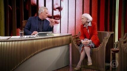 Fernanda Montenegro fala sobre a profissão de atriz