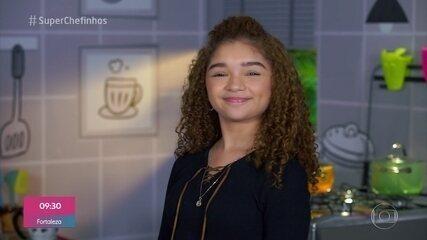 Super Chefinhos 2019': Raylla Araújo