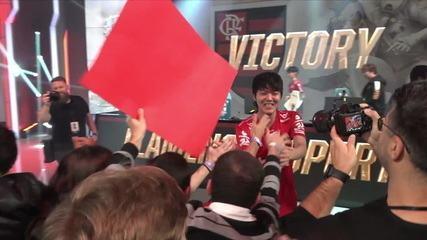 Flamengo consegue vitória importante no Mundial de LoL
