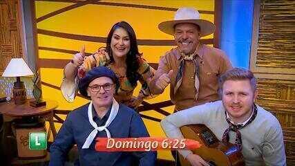 Confira as atrações do Galpão Crioulo deste domingo (6)