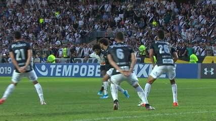 Melhores momentos: Vasco 0 x 1 Santos pela 23ª rodada do Brasileirão