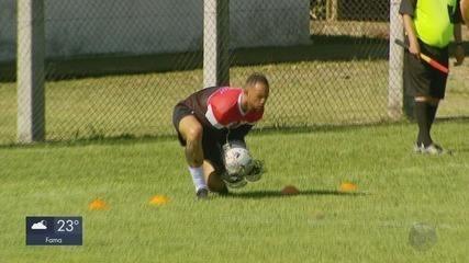 Goleiro Bruno Fernandes estreia em partida pelo Poços de Caldas FC