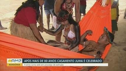 Após 80 anos, casamento Juma é celebrado em Rondônia