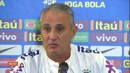 Tite fala sobre a preparação da seleção brasileira para amistoso contra o Senegal