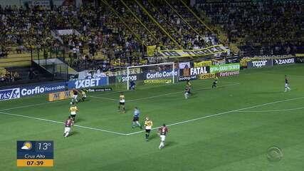 Brasil de Pelotas empata com o Criciúma em 2 a 2 na Série B