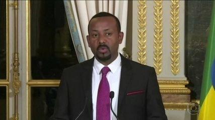 Primeiro-ministro da Etiópia ganha Prêmio Nobel da Paz