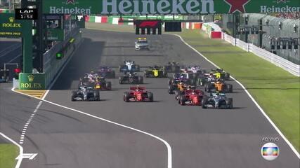 Largada do GP do Japão
