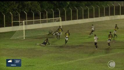 Veja os gols do empate entre Timon e Cori Sabbá pela Série B do Campeonato Piauiense 2019