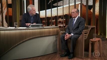 Gilmar Mendes fala sobre sobre a possibilidade de o ex-presidente Lula ser solto da prisão