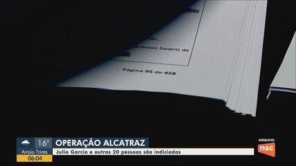 Presidente da Alesc, Julio Garcia é indiciado por quatro crimes na operação Alcatraz