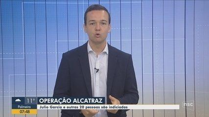 Presidente da Alesc e outras 20 pessoas são indiciadas na Operação Alcatraz