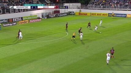Melhores momentos de Bragantino 2x2 Oeste pela 29ª rodada do Campeonato Brasileiro Série B