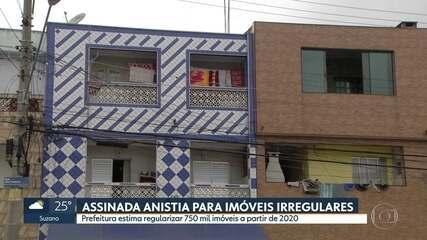 Prefeitura aprova lei da anistia para imóveis irregulares; veja novas regras