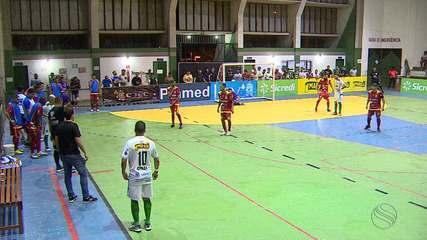 Lagarto goleia Colônia 13 e amplia vantagem nas semifinais da Copa TVSE
