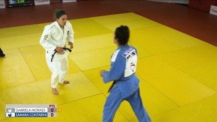"""Gabriela Moraes e Samara Contarini se enfrentam na primeira luta no terceiro episódio de """"Ippon"""""""