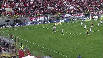 Juba chuta e o goleiro Luan Polli salva o Sport