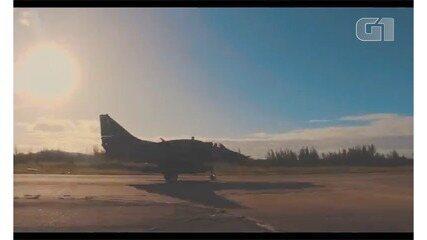 Aeronave apareceu no quadro 'Vai Encarar' em junho