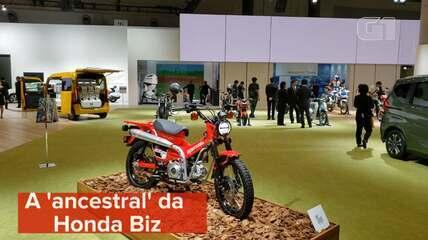 Conheça a 'ancestral' da Honda Biz