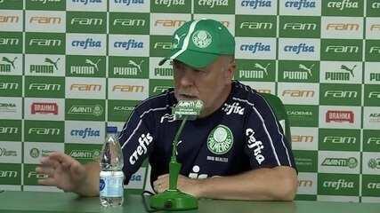 Veja como foi a entrevista de Mano Menezes, do Palmeiras, nesta sexta-feira