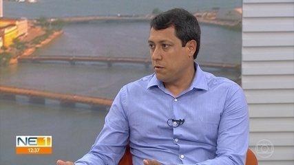 Diretor da CPRH afirma que, se não houver óleo em praias, é possível tomar banho